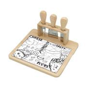Conjunto para queijo cheese design 04 peças