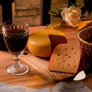 Conjunto para queijo desenhado Cheese 02 peças