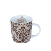 Caneca de porcelana provence marrom 350 ml