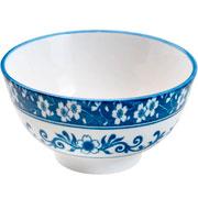 Bowl de porcelana blue garden 13x7 cm