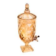 Suqueira de Cristal diamond âmbar 5 litros