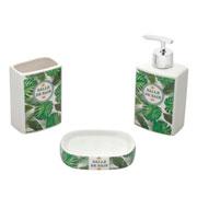 Jogo de banheiro cerâmica Amazon 03 peças