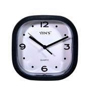 Relógio de parede quadrado colors 15 cm