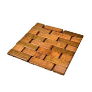 Descanso de panela de bambu 15 cm