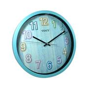 Relógio de parede redondo 30,5 cm
