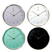 Relógio de parede de Aluminio colors 25 cm