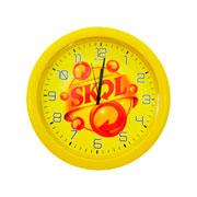 Relógio de parede Skol 29,5 cm