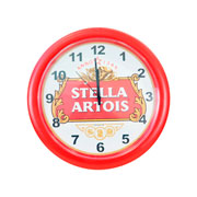 Relógio de parede Stella Artois 29,5 cm