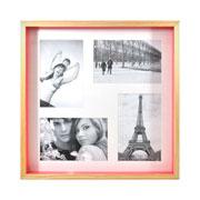 Painel para foto natural pink para 04 fotos