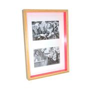 Painel para foto natural pink para 02 fotos