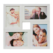 Painel de fotos branco para 04 fotos