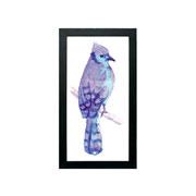 Quadro de madeira Pássaros I 56x30 cm