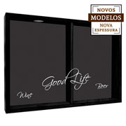 Quadro duplo good life wine 37x52x7 cm.