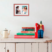 Porta retrato frame insta cobre 10x15 cm