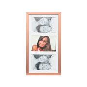 Porta retrato frame insta cobre para 03 fotos 10x15 cm