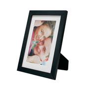 Porta retrato frame insta preto 10x15 cm