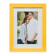 Porta retrato frame insta amarelo 15x21 cm