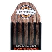 Porta cápsulas Coffee Três corações Cafeteria