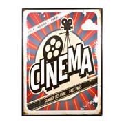 Quadro cinema decorativo 30x40 cm