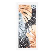 Quadro de madeira costela de Adão 65x30 cm