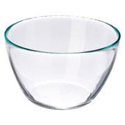 Bowl de vidro tropical G 26x14 cm