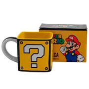 Caneca de cerâmica cubo super Mario Bros 300 ml