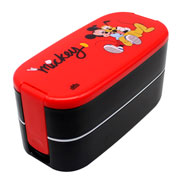Lunch box com talher 02 andares mickey 400/450 ml