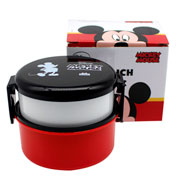 Lunch box com talher 02 andares mickey 530 ml