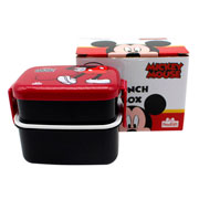 Lunch box com talher 02 andares mickey 470 ml