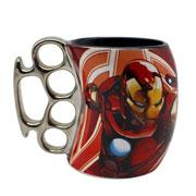 Caneca de cerâmica avengers homem de ferro 350 ml