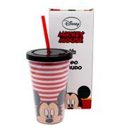 Copo Canudo mickey mouse 500 ml