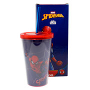 Copo Canudo spider man 500 ml