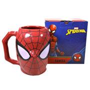 Caneca de porcelana 3D spider 400 ml