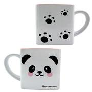 Caneca de cerâmica cubo panda 300 ml