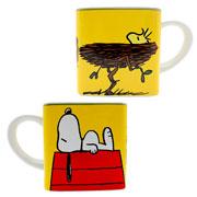 Caneca de cerâmica cubo turma Snoopy 300 ml