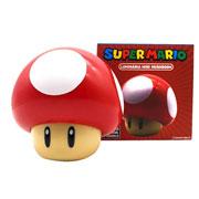 Luminária mini mushroom super mario