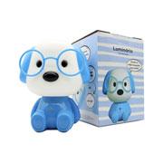 Luminária Cachorro Azul 17 cm