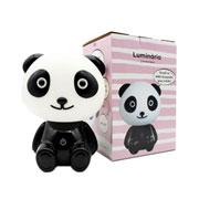Luminária Panda Rosa 18 cm