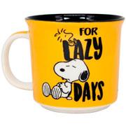 Caneca de cerâmica Snoopy for lazy days 350 ml