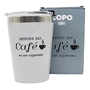 Copo para viagem depois do café 300 ml