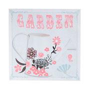 Quadro Garden rosa 28 cm