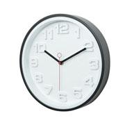 Relógio de parede thick numbers 30 cm