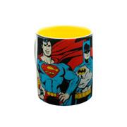 Caneca de porcelana super heroes 300 ml