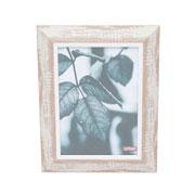 Porta retrato de madeira vintage marrom 13x18 cm