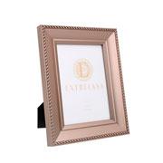 Porta retrato em MDF borda champagne 13x18 cm