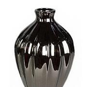 Vaso em cerâmica prata 31 cm
