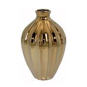 Vaso em cerâmica dourado 31 cm