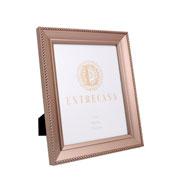 Porta retrato em MDF borda champagne 20x25 cm