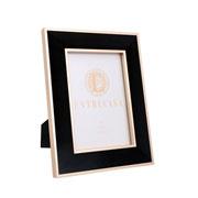Porta retrato em MDF borda de veludo preto 13x18 cm