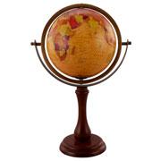 Globo em madeira com tripe 44 cm